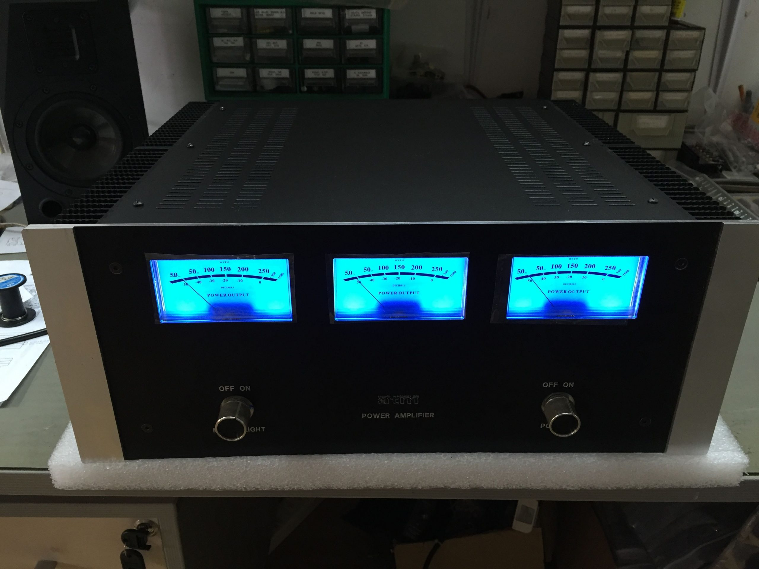 11-Channel Power Amplifier Front